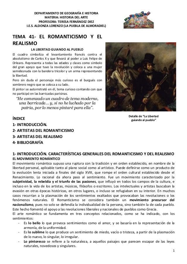 DEPARTAMENTO DE GEOGRAFÍA E HISTORIAMATERIA: HISTORIA DEL ARTEPROFESORA: TERESA FERNÁNDEZ DIEZI.E.S. ALDONZA LORENZO (LA P...