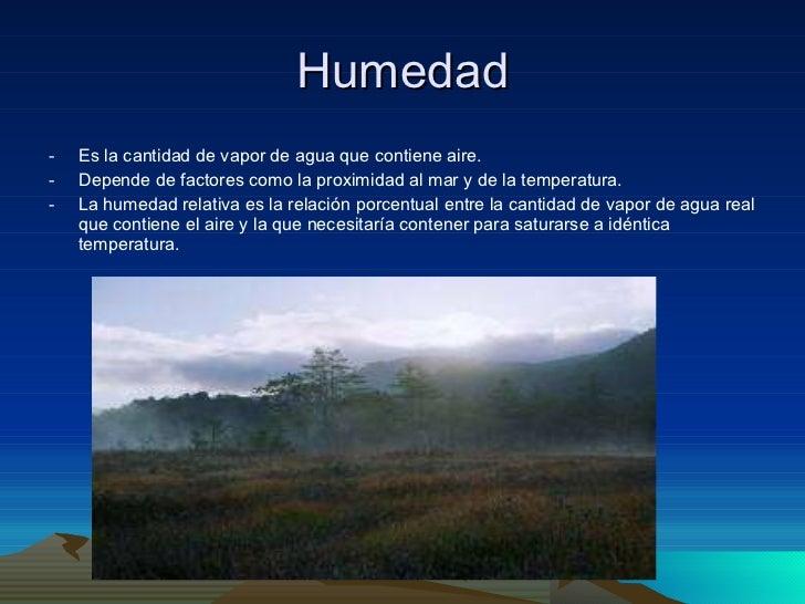 Tema 4 el clima de espa a - Humedad relativa espana ...