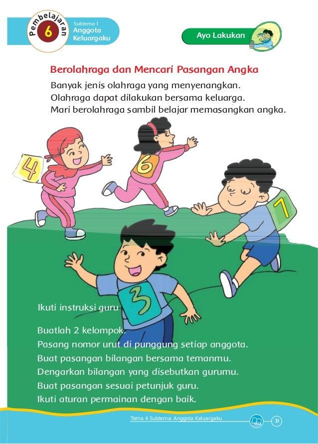 Tema 4 Keluargaku 1 Kurikulum 2013 Bse Kelas 1 Sd Buku Siswa