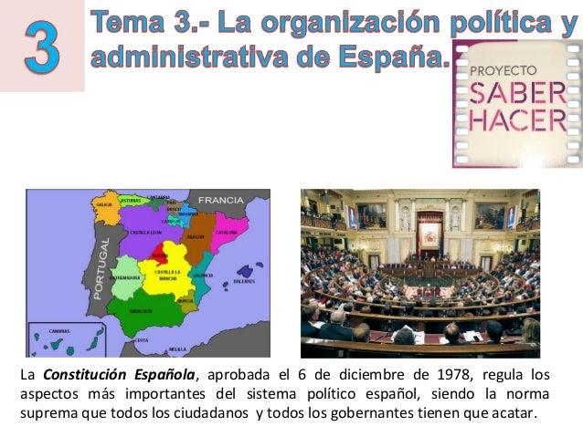 La Constitución Española, aprobada el 6 de diciembre de 1978, regula los aspectos más importantes del sistema político esp...