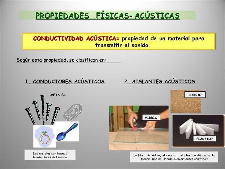 Tema 4 materiales de uso t cnico phpapp02 copia - Materiales aislantes acusticos ...