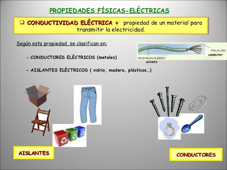 Tema 4 materiales de uso t cnico phpapp02 copia - Materiales aislantes del calor ...