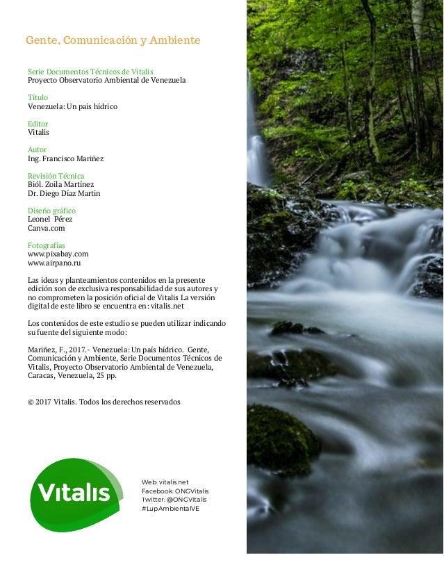 Situación Ambiental de Venezuela: Recursos Hídricos Slide 2