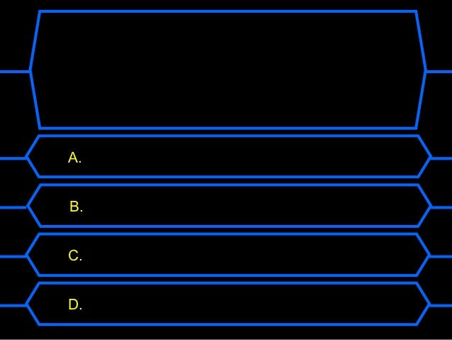 Who wants to be a millionaire reproduction for Who want to be a millionaire game template
