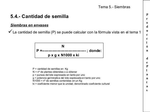 Tema 5 siembras for Densidad de siembra de tilapia