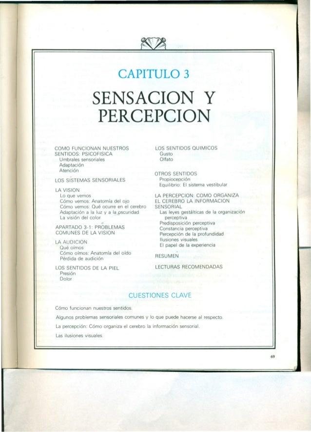 CAPITULO 3 SENSACION y PERCEPCION COMO FUNCIONAN NUESTROS SENTIDOS: PSICOFISICA Umbrales sensoriales Adaptación Atención L...