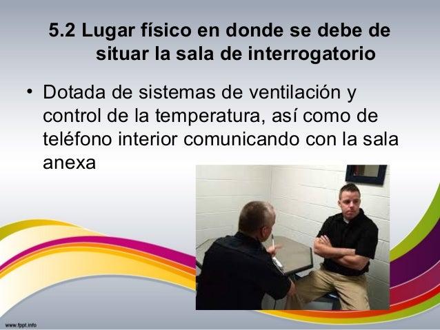 Tema 5 la sala de interrogatorio for De donde es el telefono