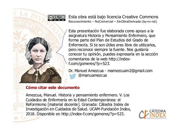 Esta obra está bajo licencia Creative Commons Reconocimiento – NoComercial – SinObraDerivada (by-nc-nd) Esta presentación ...