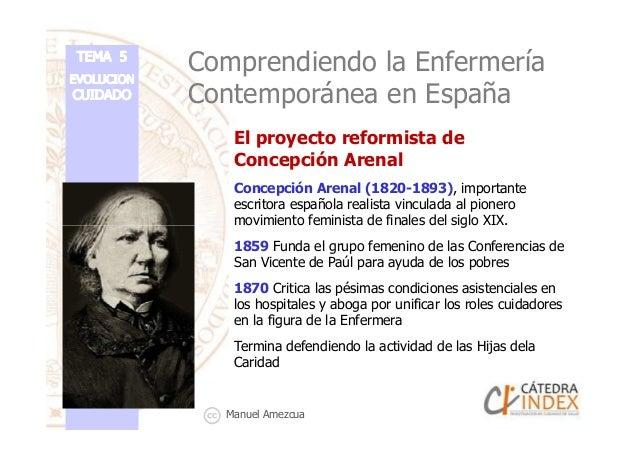 El proyecto reformista de Concepción Arenal Concepción Arenal (1820-1893), importante escritora española realista vinculad...