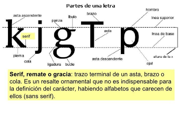 Tipografia y maquetaci n 1 for Ornamental definicion