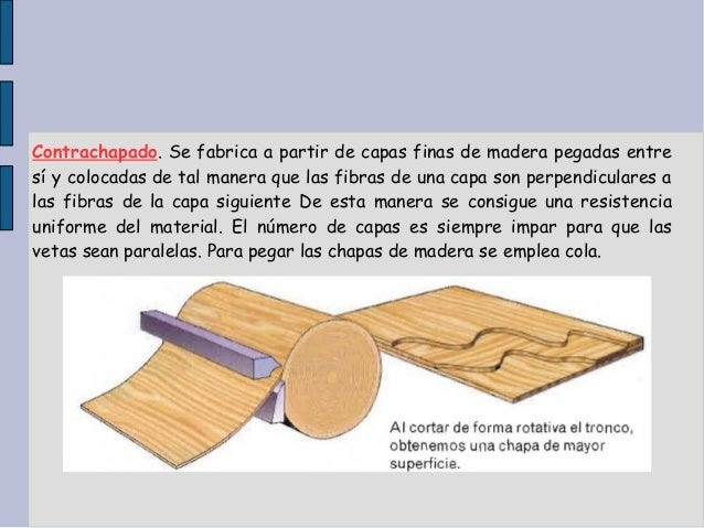 Tema 5 la madera - Fabricas de madera ...