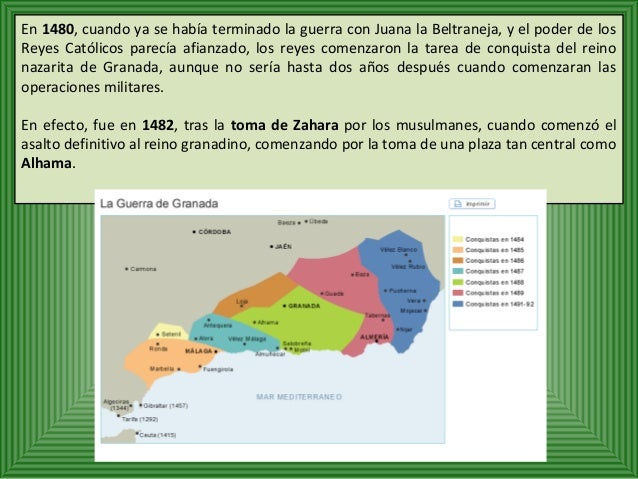 Las tropas castellanas sitiaron la capital  granadina, que capituló en 1491. Los Reyes  Católicos entraron en ella el 2 de...