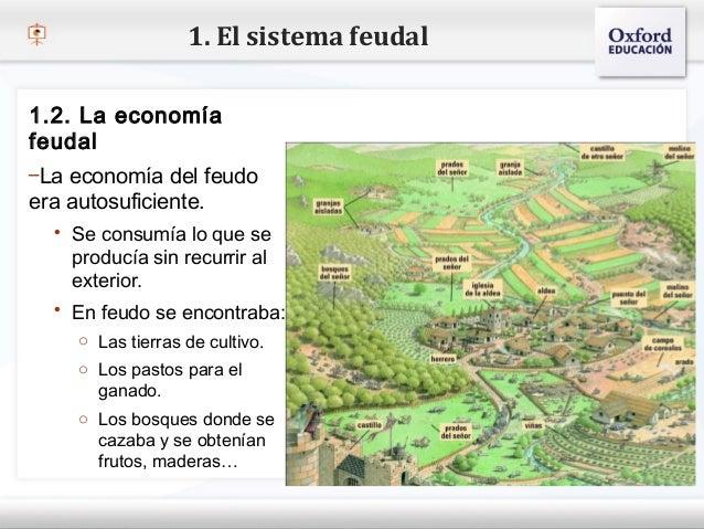 1. El sistema feudal1.2. La economíafeudal– Haga clic para modificar el estilo de texto del patrón–La economía del feudo  ...