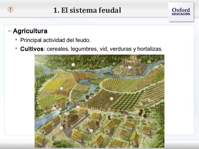 1. El sistema feudal– Agricultura    Principal actividad del feudo.– Haga clic para modificar el estilovid, verduras ypat...