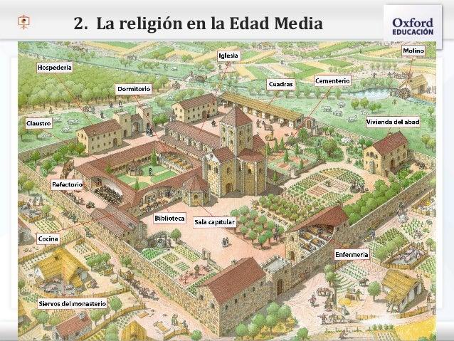 2. La religión en la Edad Media– Haga clic para modificar el estilo de texto del patrón   Segundo nivel     o Tercer nive...