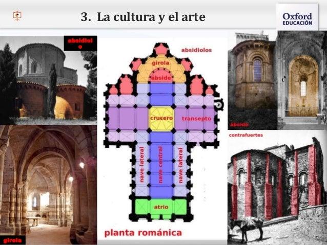 3. La cultura y el arte                 absidiol                    o  – Haga clic para modificar el estilo de texto del p...