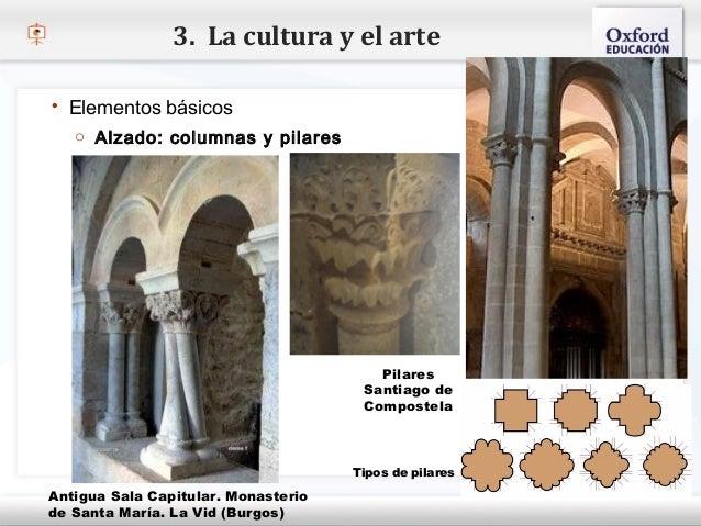 3. La cultura y el arte   Elementos básicos     o Alzado: columnas y pilares– Haga clic para modificar el estilo de texto...