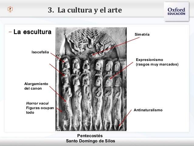 3. La cultura y el arte– La escultura                                       Simetría– Haga clic para modificar el estilo d...