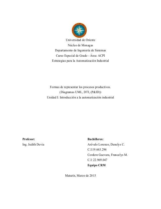 Universidad de Oriente Núcleo de Monagas Departamento de Ingeniería de Sistemas Curso Especial de Grado - Área: ACPI Estra...