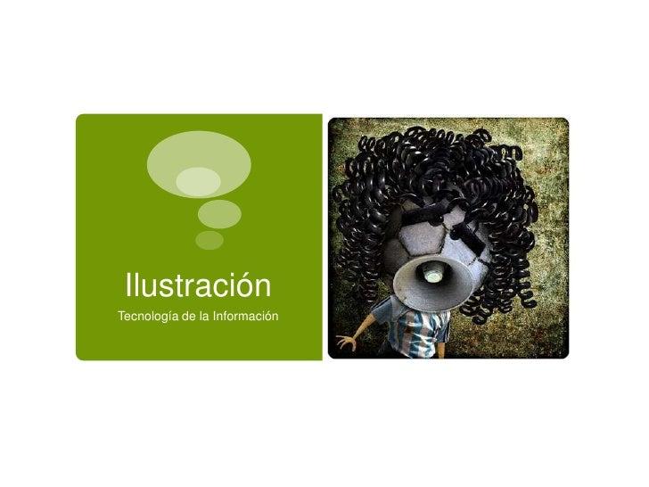 IlustraciónTecnología de la Información