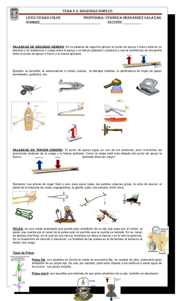 Tema # 6 maquinas simples