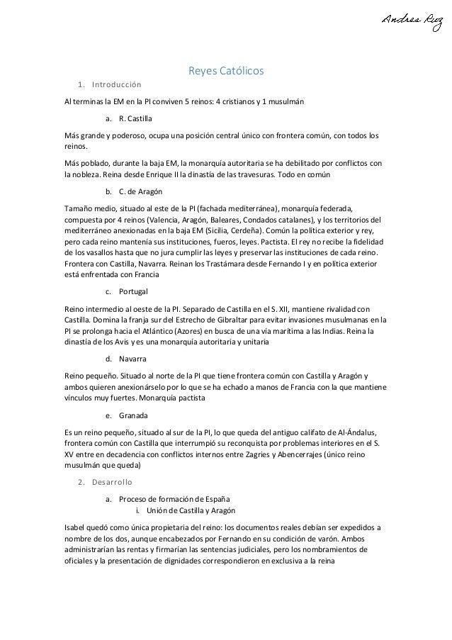 Reyes Católicos 1. Introducción Al terminas la EM en la PI conviven 5 reinos: 4 cristianos y 1 musulmán a. R. Castilla Más...