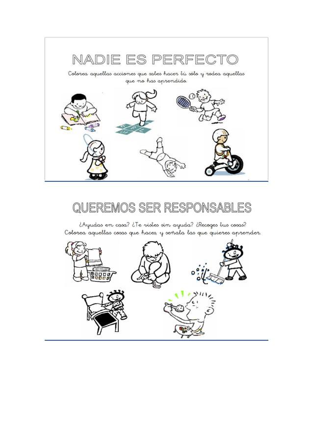 Tema 6 : Estrategias para trabajar los valores en la etapa de infantil