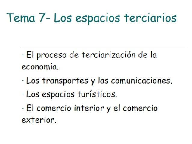 3- La política de transporte • 3.1 El marco de la política de transporte – Es doble • Ámbito interno--- competencias repar...