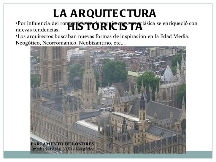 Tema 7 el arte del s xix 5 arquitectura y modernismo Romanticismo arquitectura