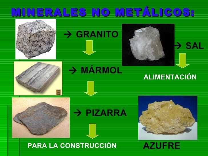 Tema 7 la industria for Marmol caracteristicas y usos