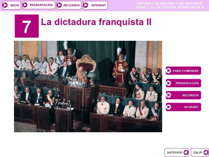PRESENTACIÓN                                               HISTORIA DE ESPAÑA Y DE NAVARRAINICIO                  RECURSOS...