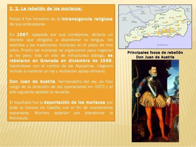 2. 3. La conquista de Portugal: En 1578 muere Sebastián I de Portugal, sobrino de Felipe II. Varios candidatos optarían en...