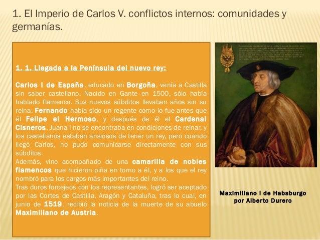 Maximiliano, emperador del Sacro Imperio, dejaba vacante el trono imperial. Carlos quiso acceder a ese trono, pero se enco...