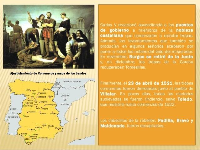 """1. 3. Las Germanías: Esta revuelta recibe el nombre de la palabra """"germá"""", que en catalán-valenciano significa hermano. El..."""