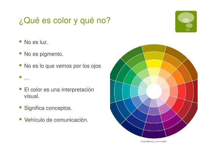 el color en diseño gráfico y periodístico