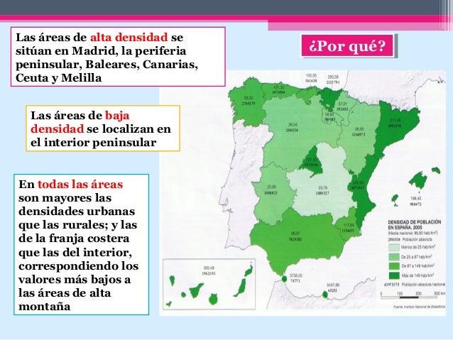 Tema 8 Poblacion Espanola Distribucion Y Regimenes Demograficos