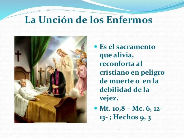 Matrimonio Catolico En Peligro De Muerte : Los sacramentos de sanación y servicio tema