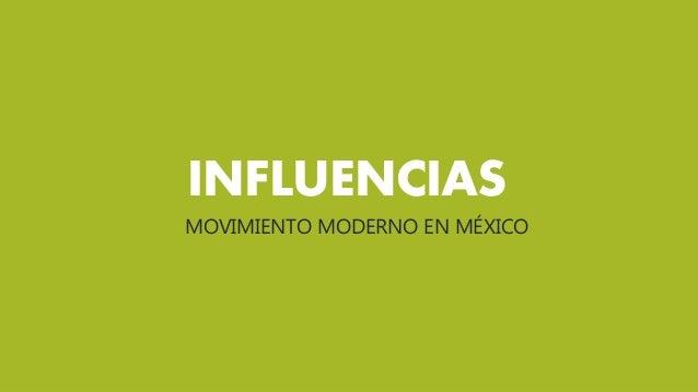El movimiento moderno en m xico - Movimiento moderno ...