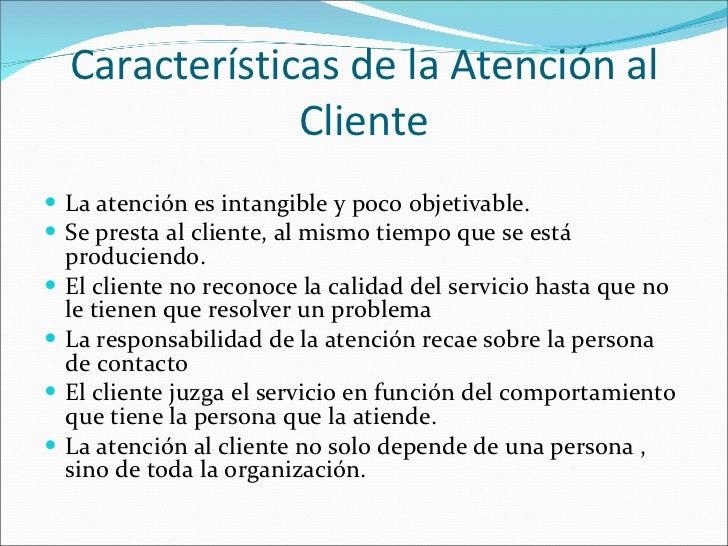 Tema 9 atenci n al cliente for Que es la oficina y sus caracteristicas