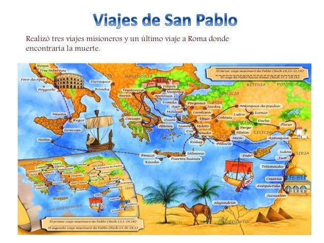Mapa de los viajes de san pablo apostol pictures to pin on for Cuarto viaje de san pablo