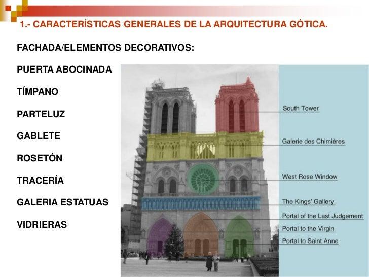 Tema 9 gotico for Arquitectura gotica partes