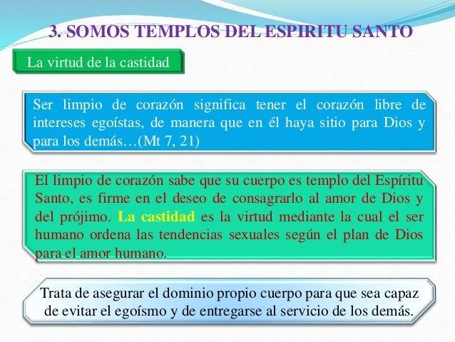 Resultado de imagen de que es ser templos del espiritu santo