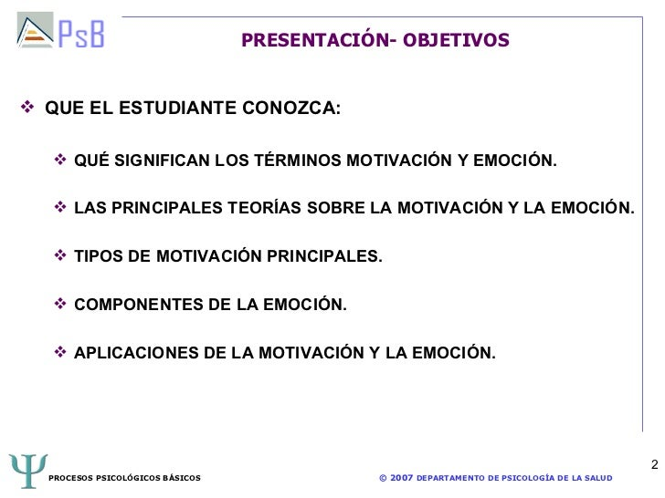 Tema 9 procesos psicológicos basicos Slide 2