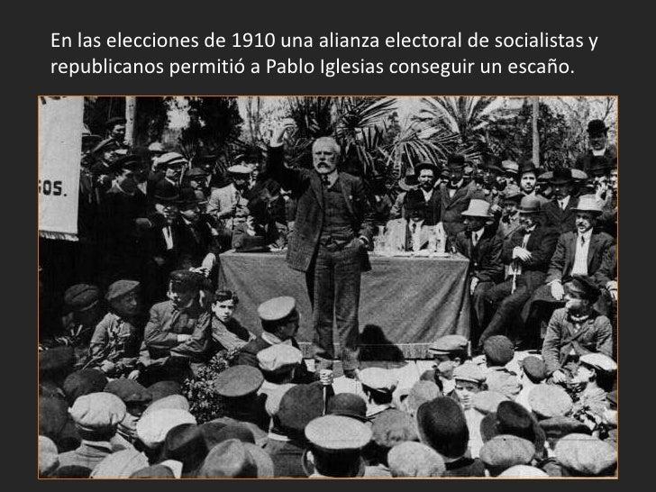 Tras las elecciones de 1910 los liberales llegaron al poder einiciaron una serie de reformas. José Canalejas intentó refor...