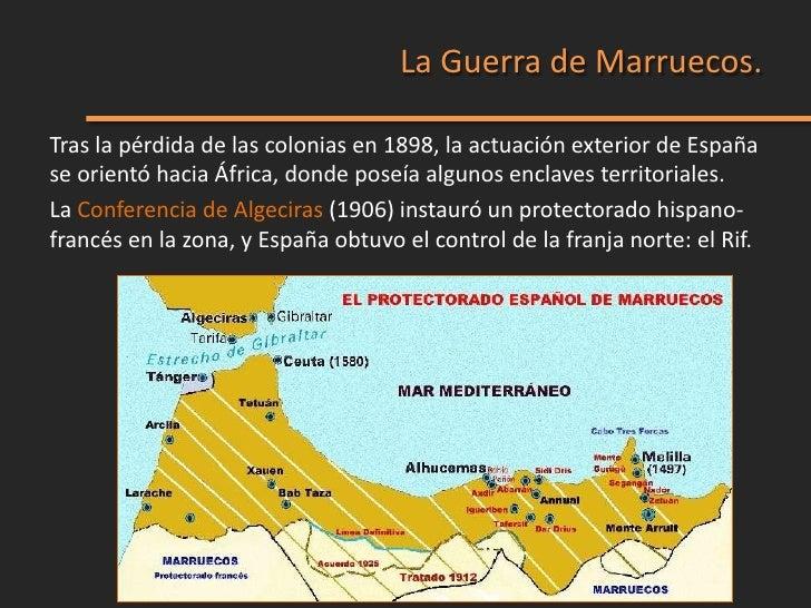 La ocupación del territorio encontró la oposición de las cabilas rifeñas(tribus bereberes de la zona del Rif) y convirtió ...