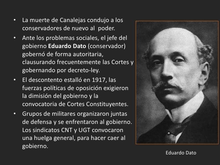 2. La crisis de la Restauración y la dictadura de                    Primo de Rivera (1917-1923).