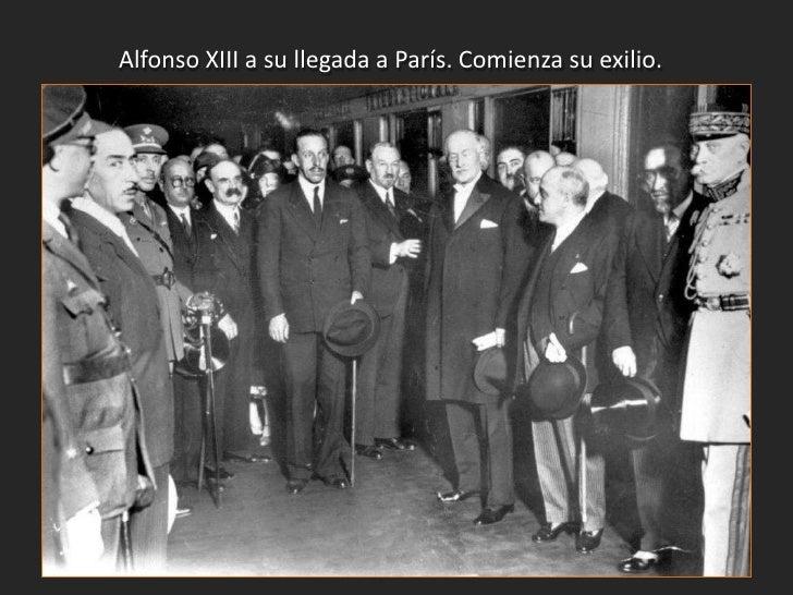 Inmediatamente se formó ungobierno provisional presididopor Niceto Alcalá Zamora yformado por republicanos,socialistas y n...