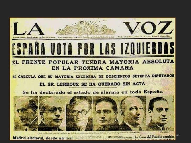 El gobierno de Casares Quiroga, que nohabía decidido tomar medidas pese a lascontinuas advertencias de lasorganizaciones o...