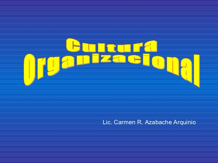 Lic. Carmen R. Azabache Arquinio
