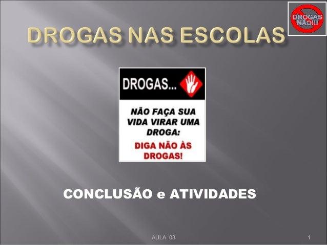 CONCLUSÃO e ATIVIDADES 1AULA 03